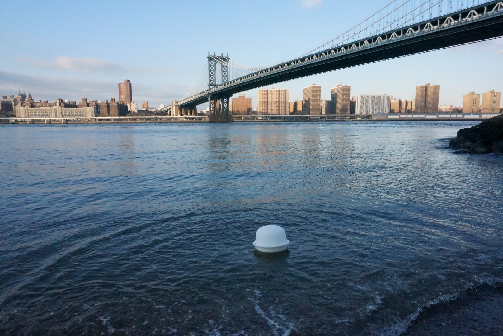 Play Array Pixel in the East River.